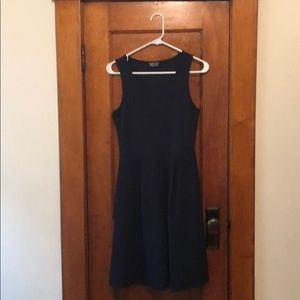 Papermoon for Stitch Fix navy fit and flare dress